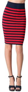 Juicy Couture Skirt Navy & Red