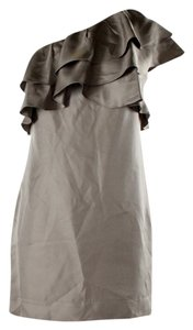 Banana Republic Party Holiday One Shoulder Timeless Silk Dress