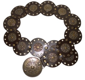 Sandcastle Sandcastle studded leather belt