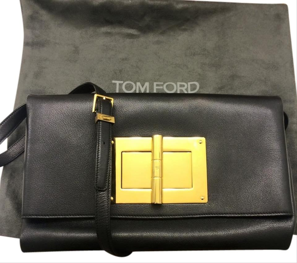 baa80f0390ee Tom Ford Tomfordclassic Blackandgold Must-have Tomfordnatalia Made In Italy  Cross Body Bag Image 0 ...