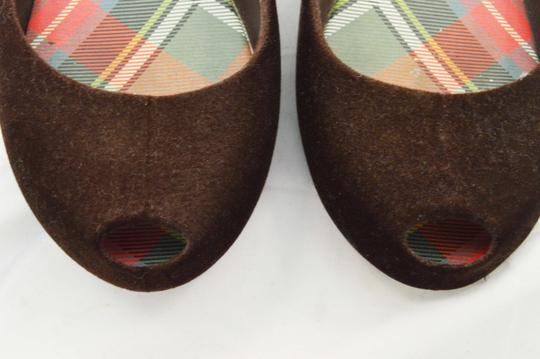 Vivienne Westwood Dark Brown Flats