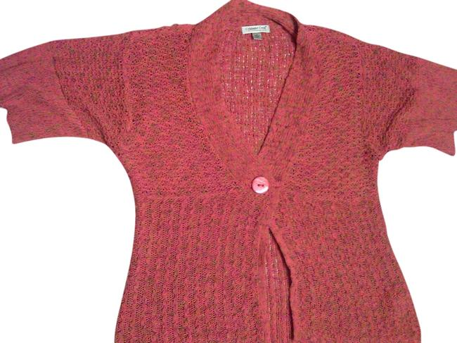 Preload https://item1.tradesy.com/images/coldwater-creek-cable-orangemix-sweater-545740-0-0.jpg?width=400&height=650