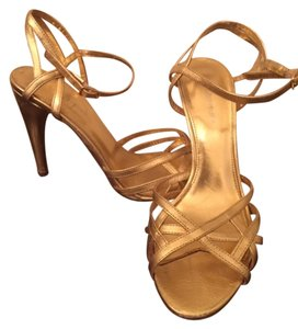 Via Spiga Heels Gold Formal