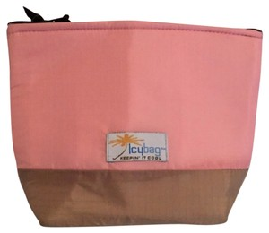 Icybag Icy Makeup Pink & brown Travel Bag