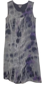 Worthington short dress Multi Gray on Tradesy