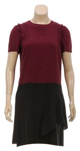 Miu Miu short dress Magenta/Black on Tradesy