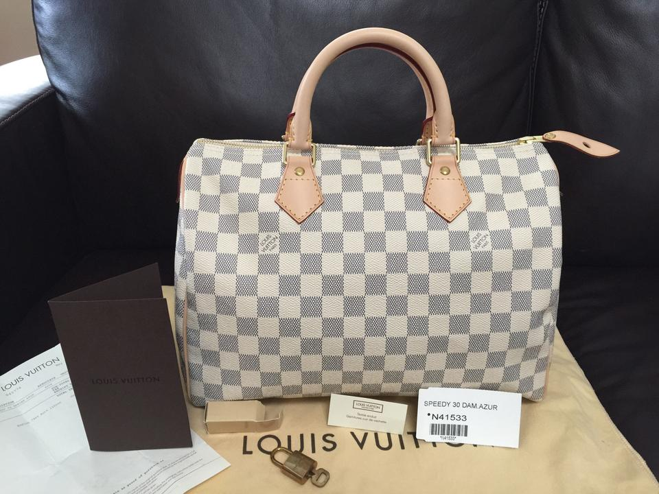 ab438dd8265d Louis Vuitton Satchel in SAVE  200 TODAY!!! CODE  EXTRA200! Speedy 30 ...