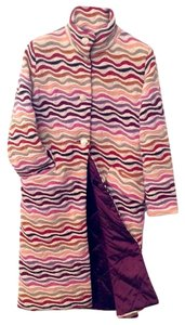 Missoni Reversible Winter Wool Orange Label Sold Out Coat