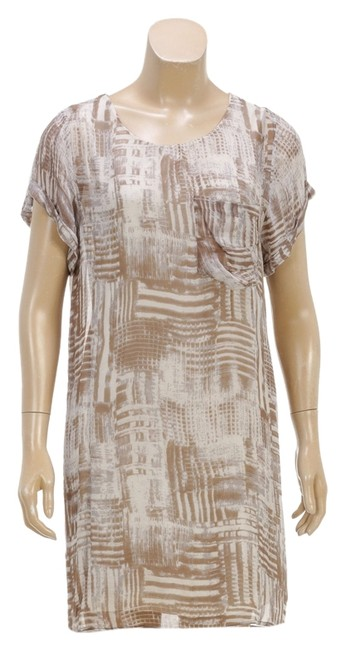 Nicholas Kirkwood short dress Tan/Cream on Tradesy