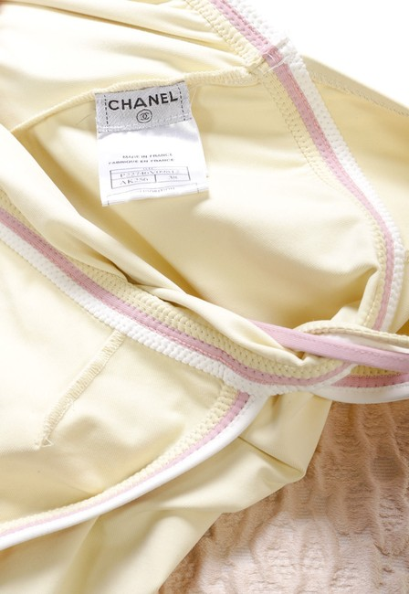 Chanel short dress Yellow/Multicolor on Tradesy