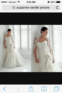 Modified Sweat Heart Wedding Dress