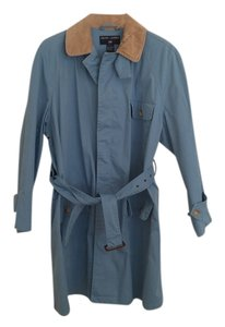 Ralph Lauren Corduroy Collar Raincoat