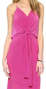 Fuchsia Maxi Dress by T-Bags Los Angeles Midi