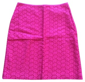 Ann Taylor Skirt Hot Pink
