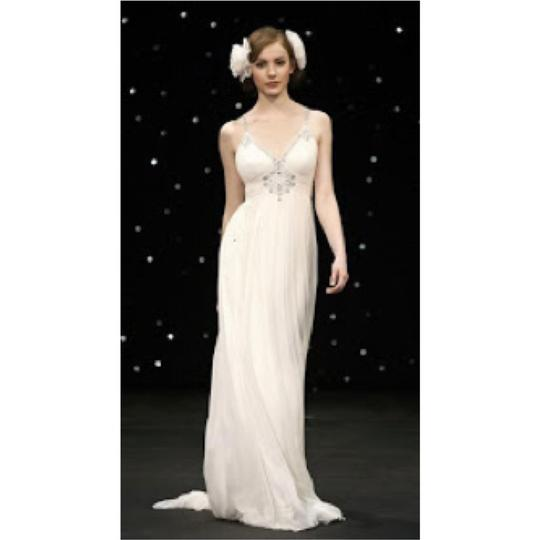 Jenny Packham Off-white Cream Sorrento Retro Wedding Dress Size 8 (M)