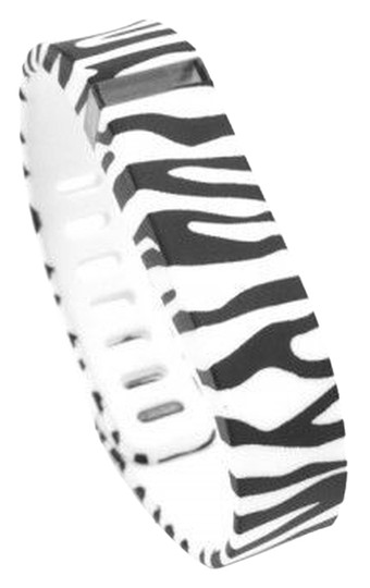 Other NEW Zebra Black White Replacement Band Bracelet for Fitbit Flex with Clasp Small S