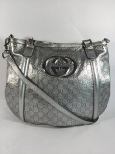 Gucci Monogram Logo Hardware Shoulder Bag