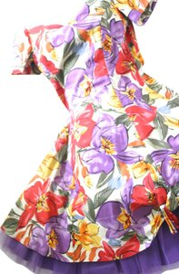 Givenchy Tafetta Floral Party Dress