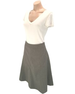 Covington Skirt Grey, White