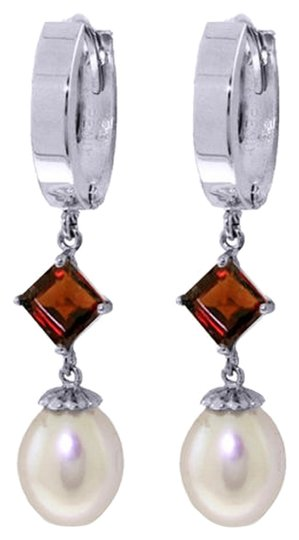 Preload https://item1.tradesy.com/images/white-gold-95-ct-14k-natural-pearl-and-garnet-earrings-5461615-0-0.jpg?width=440&height=440