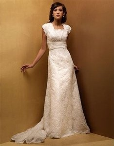 Modest Couture Wedding Dress Wedding Dress