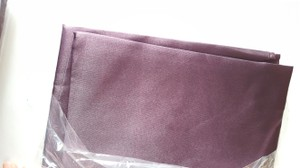 40 Organza Eggplant Table Runners- New