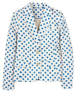 Boden China Blue Spots Blazer
