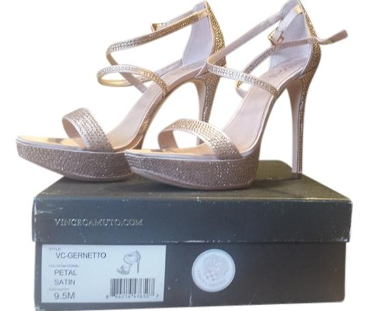 Vince Camuto Vc Wedding Wedding Stiletto High Heels Studded Fashionista Petal Pink Sandals