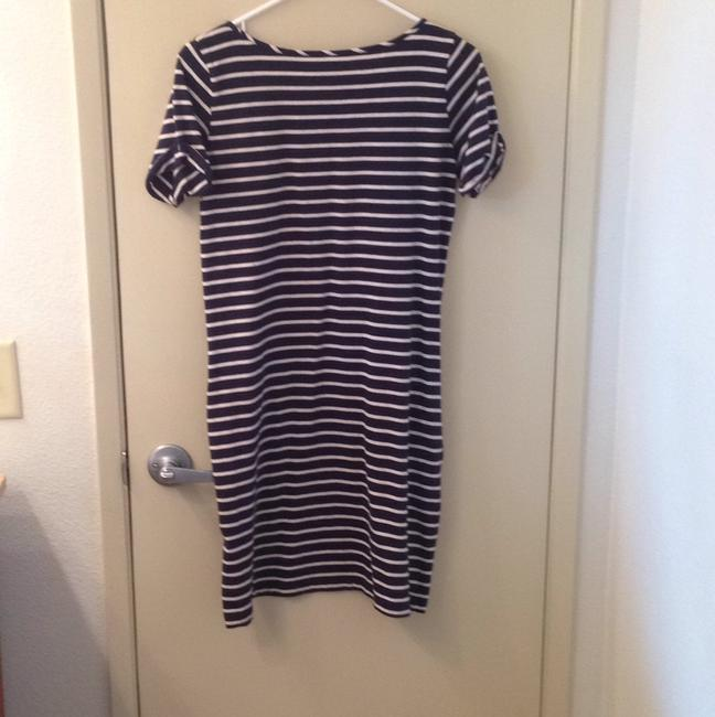 Lucky Brand short dress Navy and white striped on Tradesy Image 1