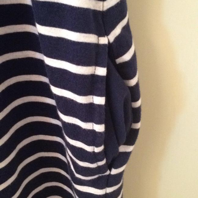 Lucky Brand short dress Navy and white striped on Tradesy