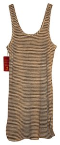 Saint Grace short dress Cream Stripe Evereve New Coverup on Tradesy