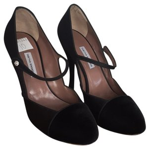 Tabitha Simmons Mary Jane Black Pumps
