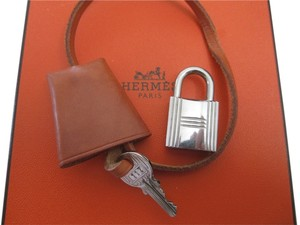 Hermès Hermes Cadena Clochette Lock and Key Bag Charm Padlock