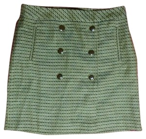 Ann Taylor LOFT Mini Skirt Multi brown blends.