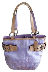 Coach Soho Rhinestone Bee Tote in lavender, multi