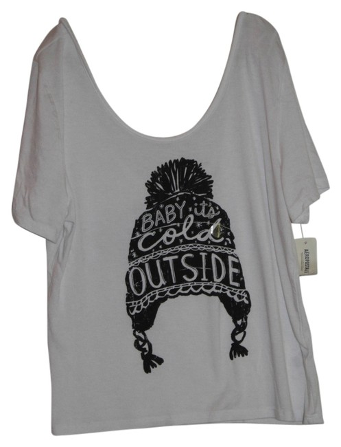 Aéropostale T Shirt Black and White