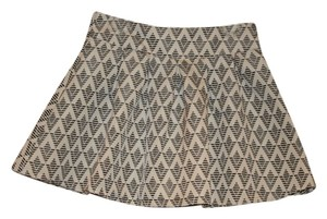 Freeway Apparel Evereve New Pleate Mini Skirt Cream