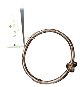 Kate Spade Kate Spade Rose Gold Sailor's Knot Hinge Bangle - NEW