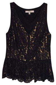 Robert Rodriguez Top Black and Gold