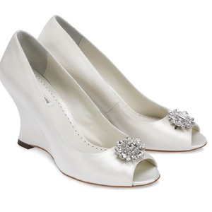 Benjamin Adams Helen Wedge Wedding Shoes