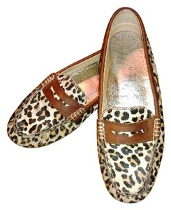 Sperry Hayden Calf Hair Brown Flats