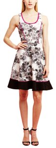 Laundry by Shelli Segal short dress Floral/Pink Sleeveless Fit And Flare on Tradesy