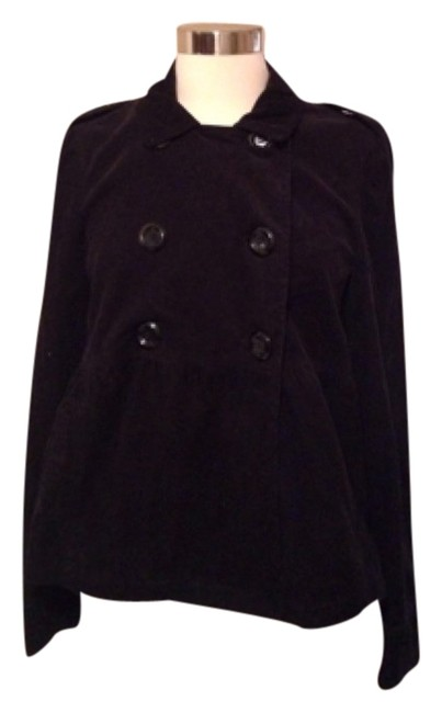 Preload https://item1.tradesy.com/images/style-and-co-blac-pea-coat-size-8-m-5464015-0-1.jpg?width=400&height=650