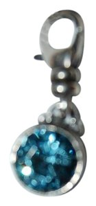 Silpada Silpada Designs .925 Sterling Silver Birthstone Charm December Teal Blue