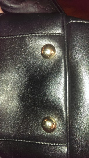 Gucci Leather Extra Large Guccissima Shoulder Bag