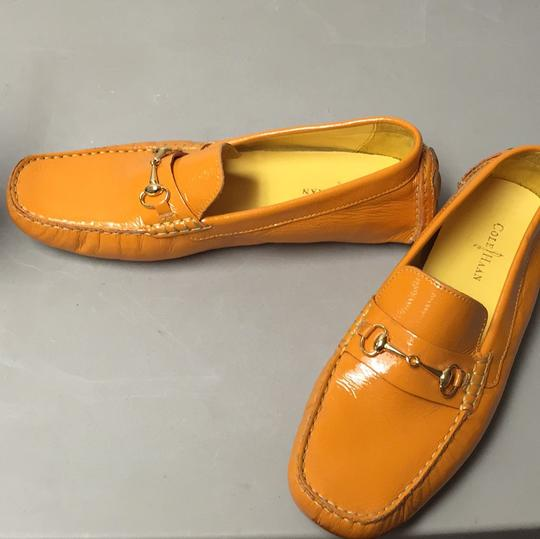 Cole Haan Orange Flats