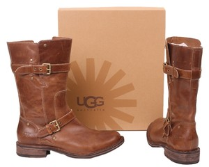 UGG Australia Motorcycle Brown Boots