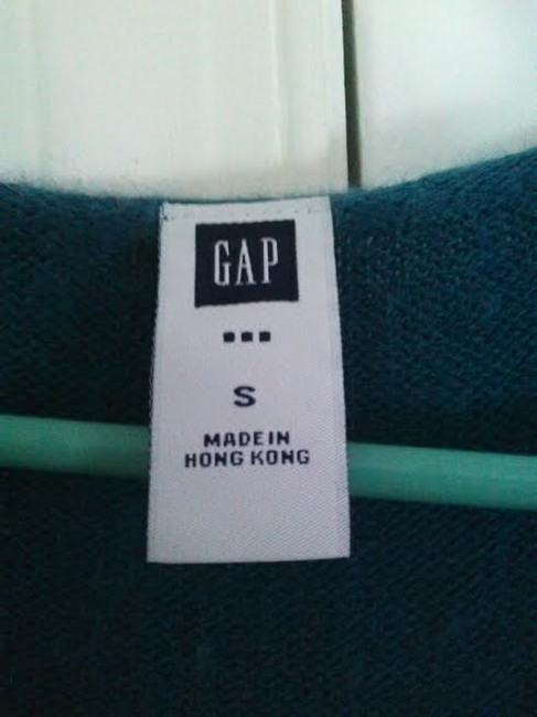 Gap Top Blue/Teal