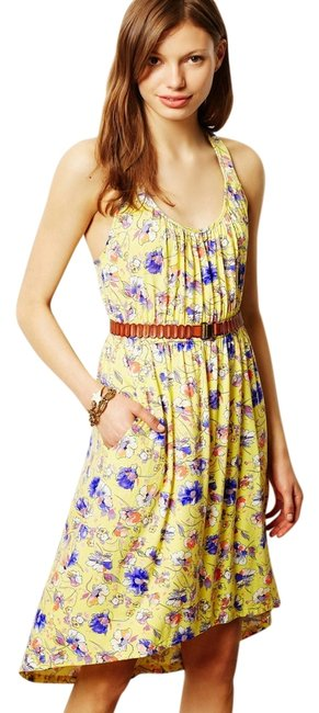 Preload https://item3.tradesy.com/images/yellow-mid-length-short-casual-dress-size-8-m-5465737-0-0.jpg?width=400&height=650