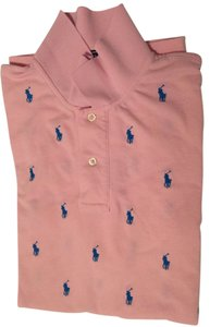 Ralph Lauren Polo Mens Polo Shirt Mens Mens Polo Mens Custom Polo Button Down Shirt Pink